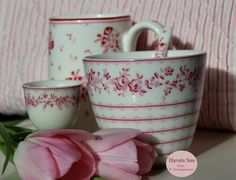Greengate, Audrey Rasberry, flowers, tulips, Havets Sus, myhome, Denmark