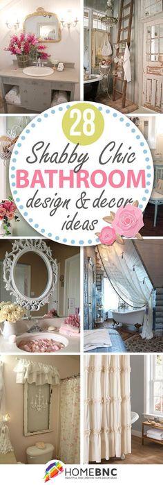 shabby chic bathroom designs