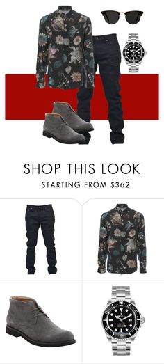 """""""Mens Red Carpet #1"""" by laurelbeauty on Polyvore featuring Yves Saint Laurent, Versus, Tod's, Rolex, Ace, men's fashion and menswear"""