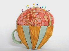 paperfolk: Embroiderer's Delight: New Pincushions