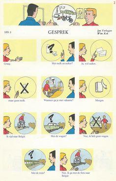 Audiovisuele Methode Nederlands. Les 2 : Gesprek (2)