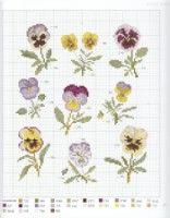 "Gallery.ru / Chispitas - Альбом ""Veronique Enginger-L'herbier du jardin au point de croix"""