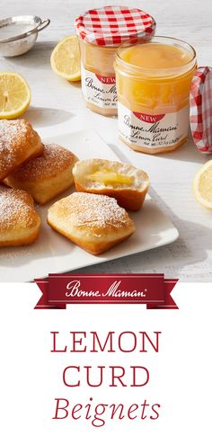 Lemon Recipes, Lemon Curd, Beignets, Cake Plates, Pretzel Bites, Shots, Treats, Cakes, Baking