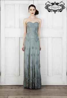 The Whisteria gown   Catherine Deane   AW14