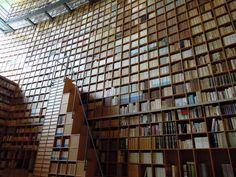 Grand bookshelf @ Shiba Ryotaro Memorial