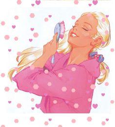 Disney Characters, Fictional Characters, Barbie, Disney Princess, Anime, Vintage, Art, Art Background, Kunst