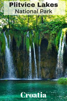 Plitvice Lakes National Park - A must- see natural wonder and UNESCO world site in Croatia. Click to find out more!