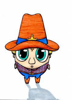 Desenho do Dia #99 - Xerife Batata - Soraia Casal