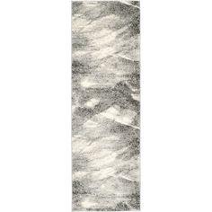 Safavieh Retro Modern Abstract Grey/Ivory Rug (2'3 x 11')