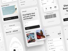App Ui Design, Branding Design, Flight App, Directory Design, Ticket Design, Ui Design Inspiration, Daily Inspiration, Air Tickets, Mobile App Ui