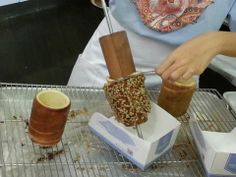 Updated June It& been closed down. Heard of Kürtös kalács? Yeah, me neither. Anyways, here& some description about it: [Kürt. Kurtos Kalacs, Chimney Cake, New Flavour, Food Packaging, Churros, Street Food, Donuts, Ice Cream, Sweets