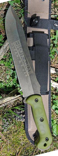 Ka-Bar BK39 Becker Clear Coat Combat Fixed Bowie Knife Blade