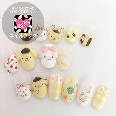 kikilalastyleさんも使ってるネイルブック。毎日最旬新着ネイル続々♪流行のデザインが丸わかり! Kawaii Nail Art, Cute Nail Art, Cute Nails, Pretty Nails, Cute Acrylic Nails, Gel Nail Art, Japan Nail Art, Disney Princess Nails, Anime Nails