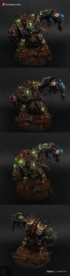 CoolMiniOrNot - Chaos Space Marines Hellbrute (Dark Vengance) v2 by fantasygames.com.pl