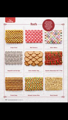 Food Network Magazine Gingerbread House Decorations