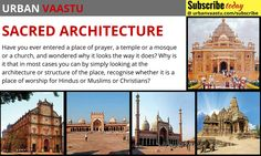Sacred #Architecture : Most Sacred Architecture Differs From Religion To Religion