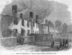 Broadclyst Fire of 1870