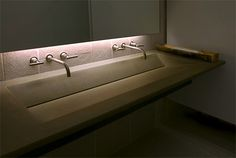 Recycled Concrete Sink by Gore Design - interesting custom work | Sinks & Vessels
