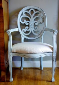 Robins Egg Blue French Chair by aSouthernStory on Etsy,  #onekingslane and #designisneverdone