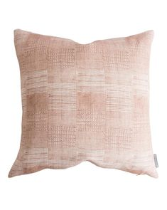 Ruby Pillow Cover - Blush / 12 : The Ruby pillow cover is composed of thick linen with an eclectic patch-like weave we rarely see. It's the best way to bring both texture and a soft pink accent to your home. Down insert not included. Blush Pillows, Accent Pillows, Throw Pillows, Small Pillows, Decorative Pillows, Denver, Stanton Carpet, Custom Cushions, Textiles