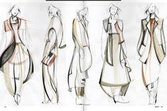 56 Ideas Fashion Design Portfolio Line Up For 2019 fashion portfolio Illustration Mode, Fashion Illustration Sketches, Fashion Sketches, Fashion Design Sketchbook, Fashion Design Drawings, Design Textile, Fashion Design Portfolio, Fashion Figures, Designs To Draw