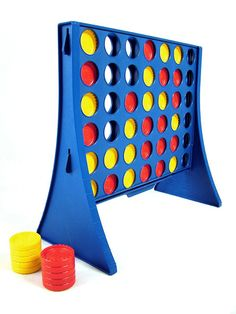 Connect Four, the real thing - I'll play you for money ;)