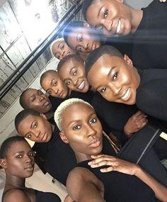 Absolutely LOVE! ❤️🙌🏾 @ohwawa_   #thecutlife #shorthair #blackgirlmagic #beauty #stunners