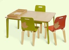 How to choose a table and chairs for children?