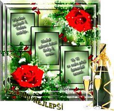 Přání k svátku « Rubrika | OBRÁZKY PRO VÁS Wreaths, Table Decorations, Home Decor, Decoration Home, Room Decor, Bouquet, Dinner Table Decorations, Interior Decorating, Floral Arrangements