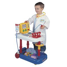 Pavlov'z Toyz Emergency Cart Playset