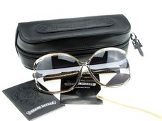790dce6e5e4 Chrome Hearts sunglasses silver