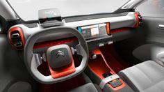 Gashetka | Transportation Design | 2017 | Citroen C-Aircross Concept | Source