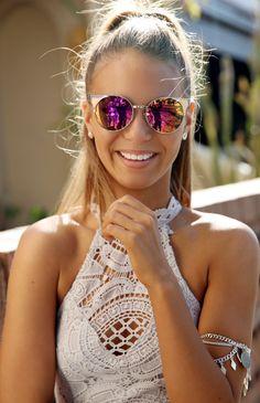 Quay Australia - Asha Sunglasses - Gold