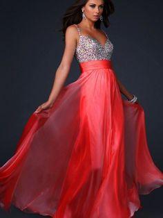 Empire Sweetheart Floor-length Chiffon Prom Dress with Beading $146.59
