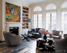 """""""Miranda's Town house"""" - featured in ELLE DECOR"""