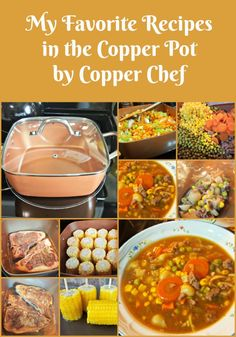 My Favorite Recipes in the Copper Pot by CopperChef Several months ago we replaced our kitchen appliances and our stove is now a induction cook surface type. Yeah, in case you didn't know; there is a (Favorite Recipes) Red Copper Pan, Copper Pots, Copper Chef Cookbook, Copper Crisper Recipe, Cooper Chef Recipes, Copper Cooker, Copper Chef Square Pan, Cooking Boneless Pork Chops, Copper Cooking Pan