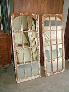 Using reclaimed wood for mirror frames is not only stylish but a green way to revamp your home. Come into Atkinson's today to see some of the mirrors we have done!