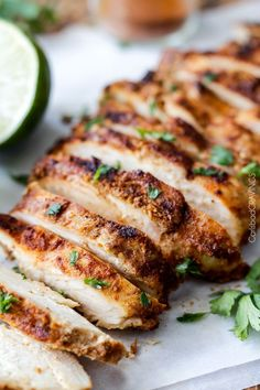 Easy All Purpose Chipotle Chicken seeping with flavor is a meal all in one or instantly transforms tacos, burritos, salads, bowls, etc into the most epic tacos, burritos, salads, bowls EVER!