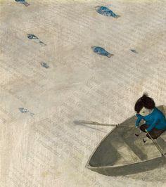 el gato azul prusia: El vacío en la ilustración infantil: ESPACIOS DE SILENCIO, AUSENCIAS QUE NARRAN.