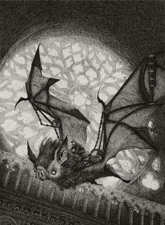 The Bat Rider by AudreyBenjaminsen on deviantART