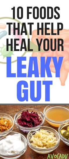 Gut health is connected to weight loss, mental health, and so much more - Heal your leaky gut with these 10 healthy foods! #guthealth #avocadu