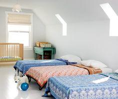 boho, summer house dorm style sleeping