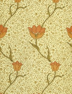 Wallpaper, by William Morris  I do love me some Art and Craft movement wallpaper.