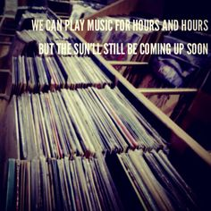 The Head and the Heart -Let's Be Still Lyric Quotes, True Quotes, Music Is Life, New Music, The Airborne Toxic Event, City And Colour, Vinyl Junkies, Film Music Books, Band Posters