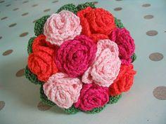 Bouquet au crochet
