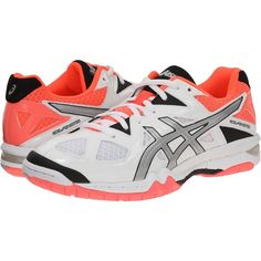 f373267f58 ASICS GEL-Tactic Women s Volleyball Shoes ( 48) ❤ liked on Polyvore  featuring shoes