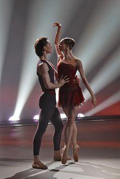 "Olga Smirnova and Vladislav Lantratov (Bolshoi Ballet)    Adagio from ""Dream of Dream"" choreographed Jorma Elo  Photo © Alexey Yakovlev"