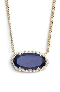 Kendra Scott 'Dylan' Stone Pendant Necklace | Nordstrom