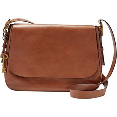 Fossil Harper Across Body Bag , Brown ($220) ❤ liked on Polyvore featuring bags, handbags, shoulder bags, brown, leather crossbody, leather crossbody purses, leather crossbody satchel, purses crossbody and brown leather crossbody