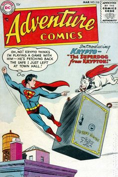 Adventure Comics (1938 1st Series) 210 First appearance of Krypto